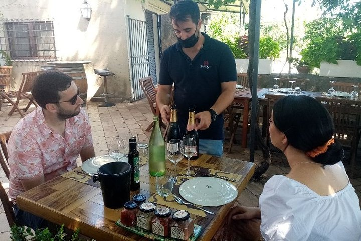 Private tour of Etna Volcano and Etna Winery Visit with Food and Wine Tasting, Taormina, ITALIA