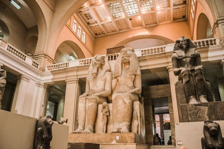 Half Day Guided Trip To Egyptian Museum, Guiza, Egito