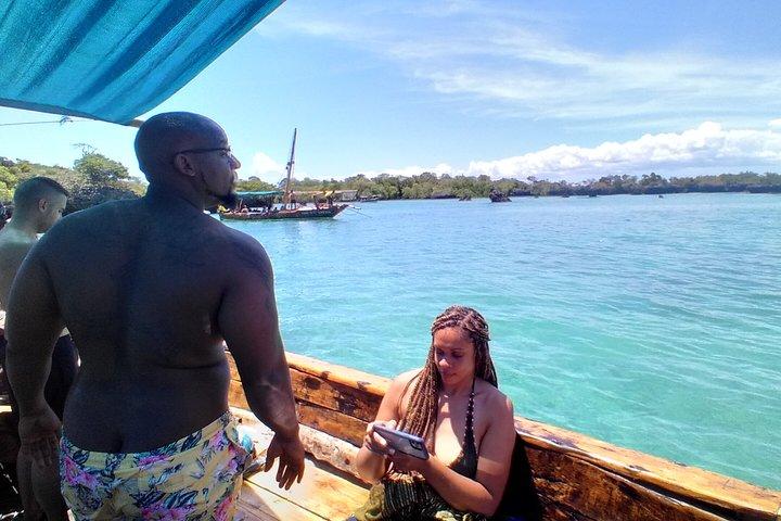 Full-day Safari Blue Trip with Seafood buffet, Zanzibar, TANZANIA
