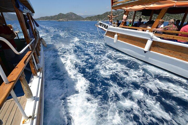 Kekova Sunken City Boat Trip From Kalkan and Kas, Kas, TURQUIA