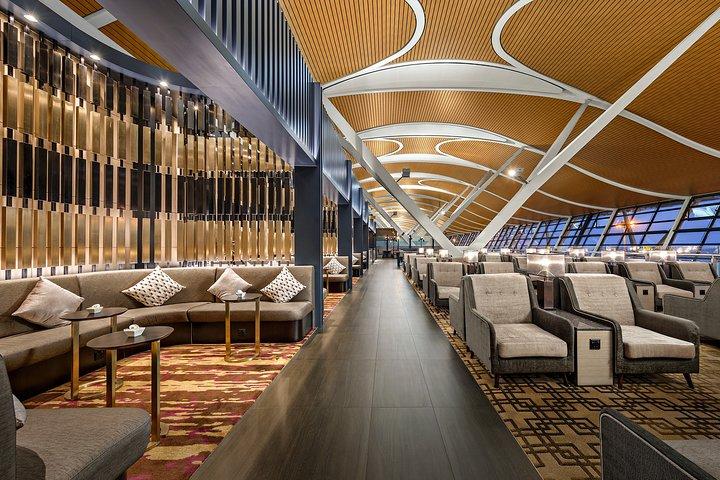 Shanghai Pudong International Airport No.77 China Eastern Lounge at Terminal 2, Shanghai, CHINA