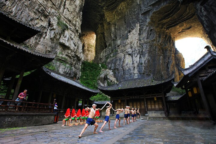 Wulong karst+Red stone National Park 3-days Private tour-Extension, Chongqing, CHINA