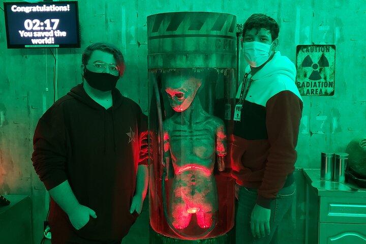X-FILE Interactive Escape Room in Northfield, New Jersey, Atlantic City, NJ, UNITED STATES