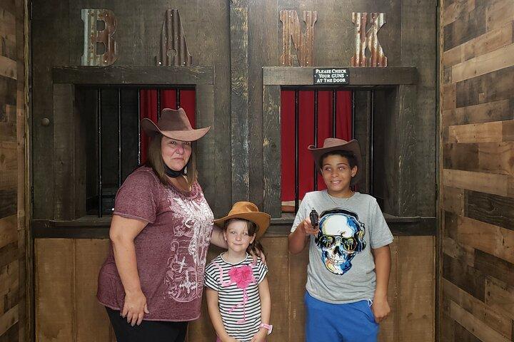 Wild West Heist Interactive Escape Room in Northfield, New Jersey, Atlantic City, NJ, UNITED STATES