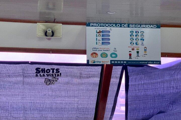 Recorrido de Día Completo a Isla Tortuga desde San José, ,