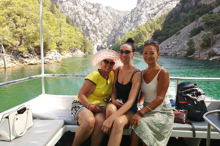 Side: Green Canyon 5 Hours Boat Trip Lunch and Drink Inclusive, Side, TURQUIA