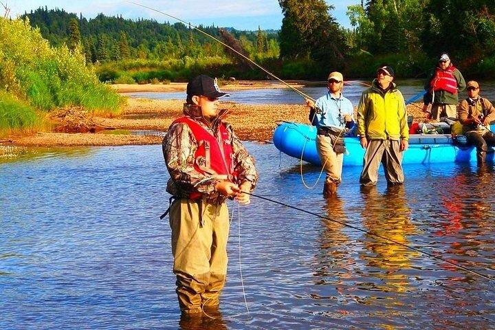 River Rafting in Alaska Wilderness, Fairbanks, AK, ESTADOS UNIDOS