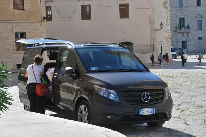 Transfer from Catania airport to Ragusa, ,