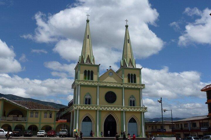 Gualaceo, Chordeleg, and San Bartolomé from Cuenca, Cuenca, ECUADOR