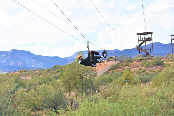 Zip Line Tour at Out of Africa Wildlife Park in Sedona (Camp Verde), Flagstaff, AZ, ESTADOS UNIDOS
