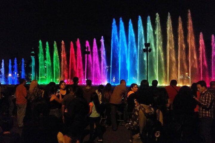 Excursão noturna particular em Lima, incluindo o Circuito Mágico das Águas, Lima, PERU