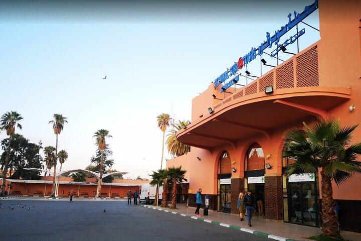 Marrakech - Essaouira Morocco Supratours Bus Tickets, Esauira, MARRUECOS