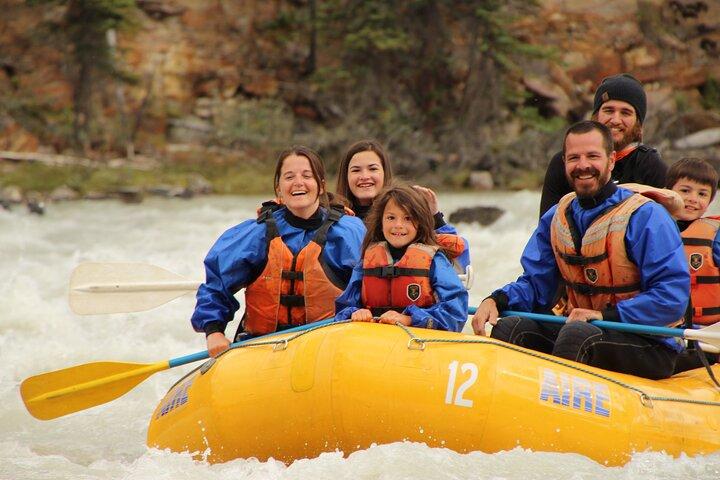 Athabasca Falls Run, Jasper, CANADA