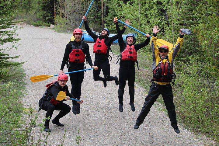 Sunwapta River Self-Drive Rafting Trip, Jasper, CANADA