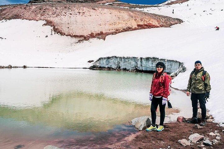 Volcán Carihuayrazo + Laguna Congelada + Trekking + una Atracción Imperdible, Baños, ECUADOR