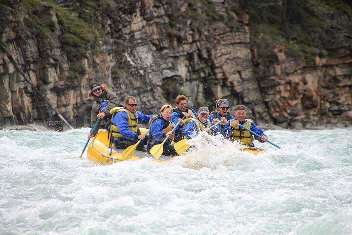 Rafting Athabasca Falls Run in Jasper, Jasper, CANADA