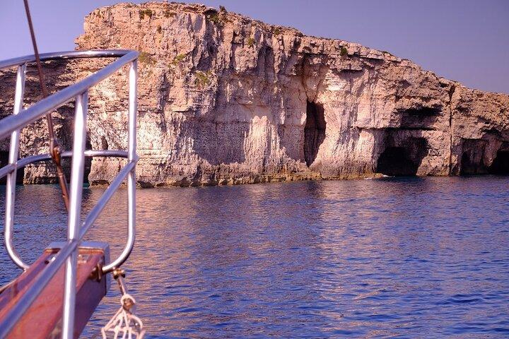 Full-Day Three Island Cruise: Malta, Gozo, and Comino, ,