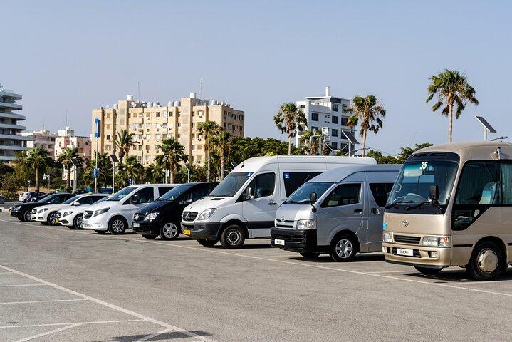 Private Transfer: Larnaca Airport to Protaras 1-14 pax, Larnaca, CHIPRE