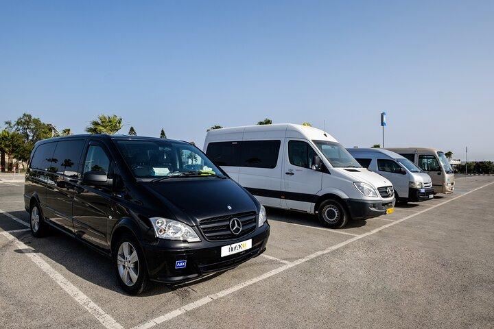 Private Transfer: Larnaca Airport to Ayia Napa 1-14 pax, Larnaca, CHIPRE