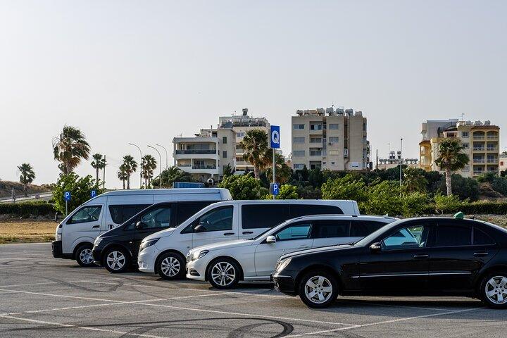 Private Transfer: Larnaca Airport to Protaras with return 1-14 pax, Larnaca, CHIPRE