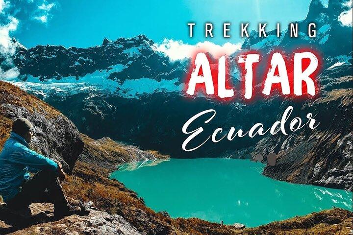 Volcan El Altar  Trekking   Laguna Amarilla   2 Dias 1 Noche   Todo Incluido, Baños, ECUADOR