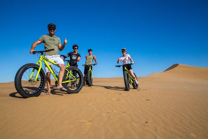 Scenic Desert Tour by Bike, Swakopmund, NAMIBIA