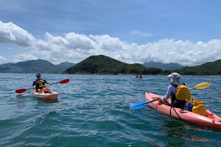 Hong Kong Geopark Kayaking Adventure, Hong Kong, CHINA