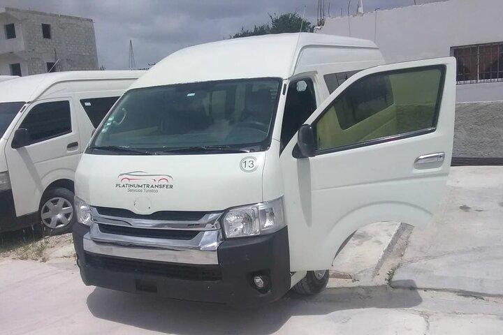 Traslados en Platinum Shuttle desde el aeropuerto a hoteles de Punta Cana, Punta de Cana, REPUBLICA DOMINICANA