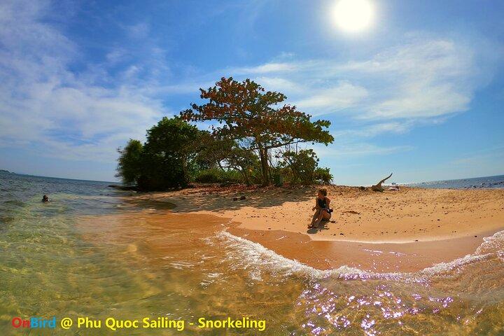 OnBird - Sailing to Turtle Island by Catamaran & Sunset at Casuarina Beach, Phu Quoc, VIETNAM