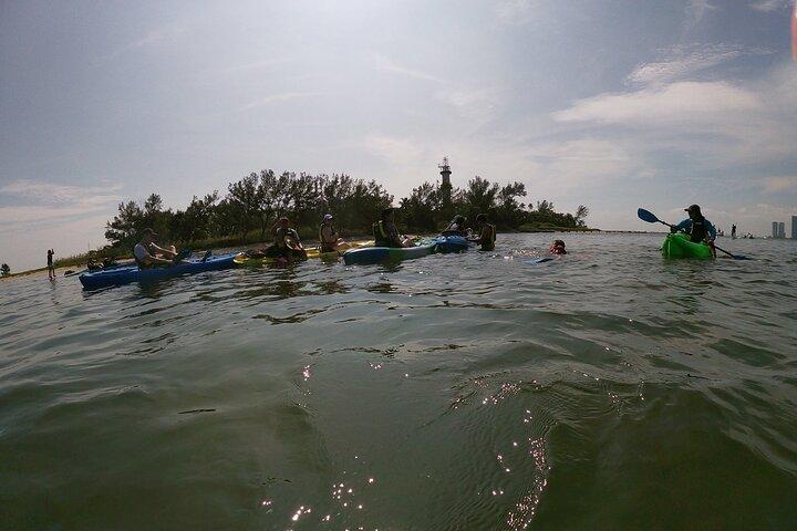 Kayak y Esnórquel en el Arrecife de la Isla de los Sacrificios, Veracruz, MEXICO