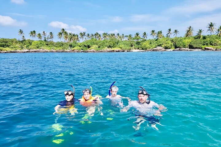 Amazing private snorkeling tour in An Thoi islands by speed boat, Phu Quoc, VIETNAM