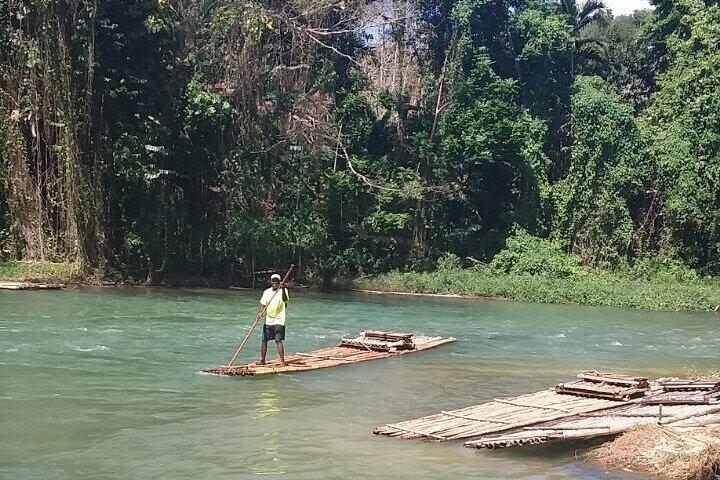Plantation River Tour: Farm and Rafting tour, Runaway Bay, JAMAICA