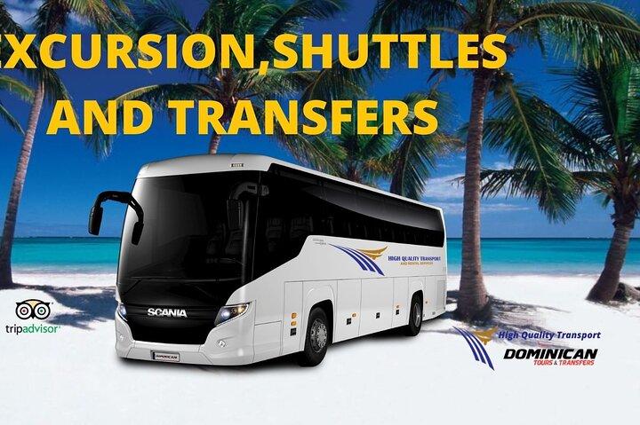 Traslados privados desde el aeropuerto de Punta Cana hasta los hoteles de la República Dominicana, Punta de Cana, REPUBLICA DOMINICANA