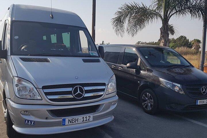 Cyprus Larnaca Airport Private Transfers to Protaras 1-8 passengers, Larnaca, CHIPRE