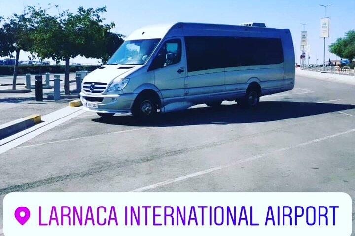 Cyprus Larnaca Airport Private Transfers to Ayia Napa 1-15 passengers, Larnaca, CHIPRE