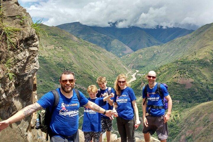 Inca Jungle Trail to Machu Picchu in 4 Days, Cusco, PERU
