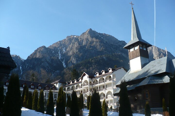 Day Tour Peles Castle - Caraiman Monastery from Brasov, Brasov, RUMANIA