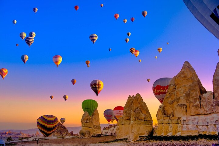 3 Days Cappadocia Tour from/to Istanbul - Including Hot Air Balloon Tour, ,