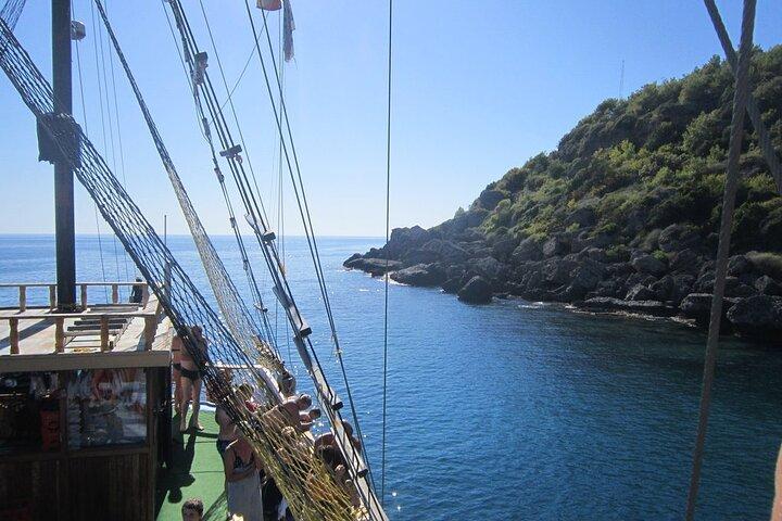 Side Lazy Day Boat Trip, Side, TURQUIA