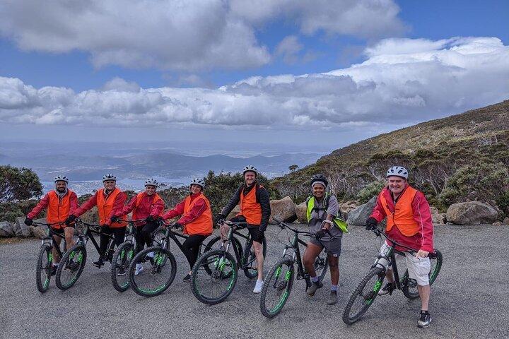 Mount Wellington Descent Cycling Tour departs Hobart, Hobart, AUSTRALIA