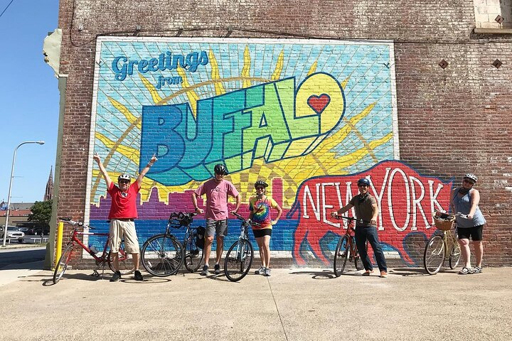 History Ride: The Best of Buffalo by Bike, Bufalo, NY, ESTADOS UNIDOS