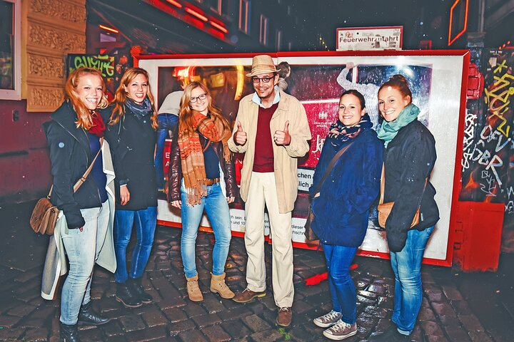 Private guided redlight district tour through Sankt Pauli, Hamburgo, Alemanha