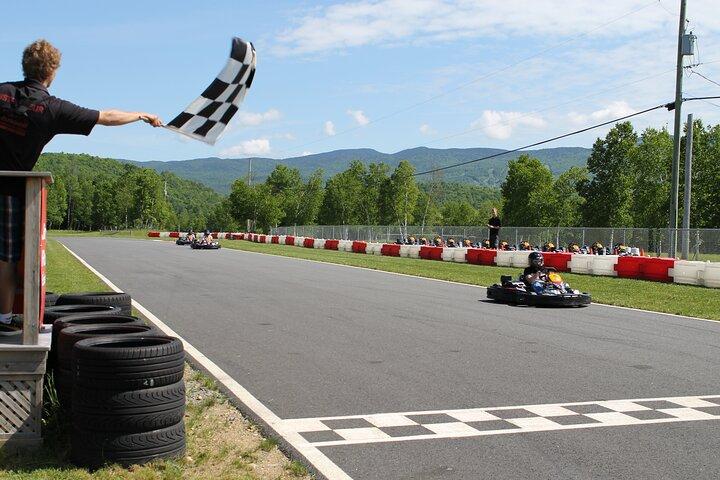 Go Karting Academy, Mont-Tremblant, CANADÁ