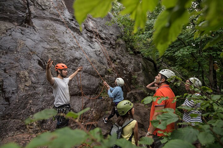 Rock Climbing, Mont-Tremblant, CANADÁ