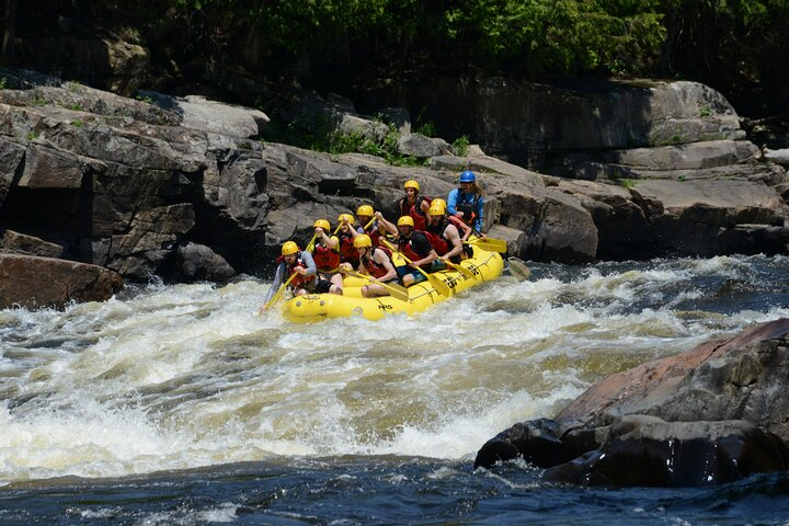 Tremblant White Water Rafting Express Experience, Mont-Tremblant, CANADA