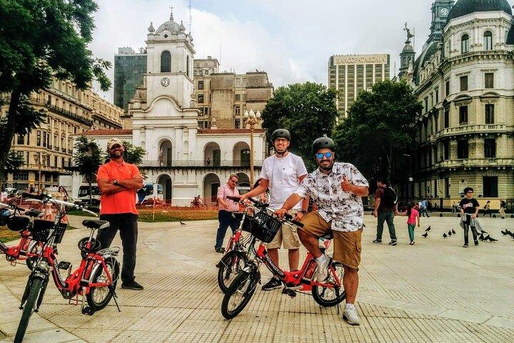 E-Bike n' Wander through Buenos Aires, Buenos Aires, ARGENTINA