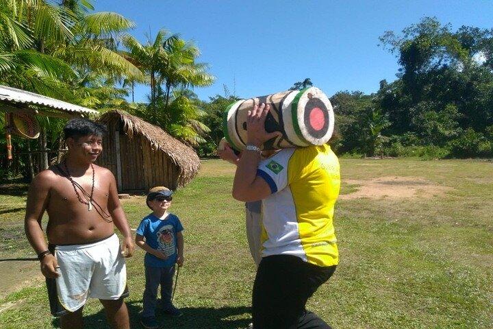 Tour Privado En La Playa De Itaguaré Con La Tribu Indígena Santos, Santos, BRASIL