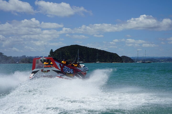 Jet Boat Ride Tour in Bay of Islands, Bahia de Islas, NUEVA ZELANDIA