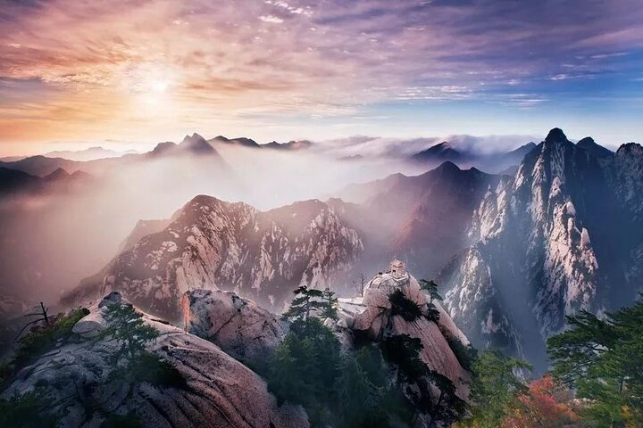 Xi'an Huashan Mountain Adventure Day Tour, Sian, CHINA