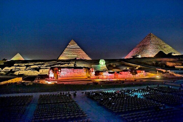 Sound and Light Show at Giza Pyramids, El Cairo, EGIPTO